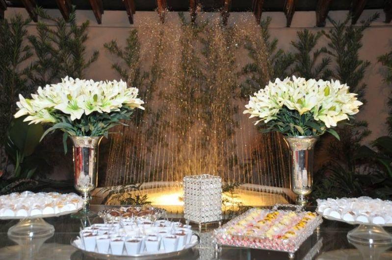 Buffet para Jantar de Casamento na Monte Carmelo - Salão para Festa de Casamento