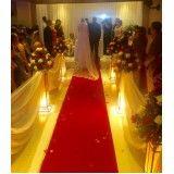 buffet para casamento com cerimônia no local na Tanque Grande