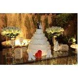 buffet para cerimônia de casamento no Pimentas