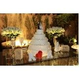buffet para cerimônia de casamento na Bosque Maia