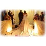 buffet para recepção de casamento no Morro Grande