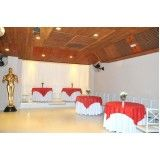 espaço para casamentos no Capelinha