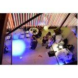 locação de espaço para festas preço no Jardim Fortaleza